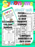 Synonyms NO-PREP Worksheets