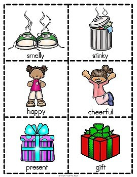 Synonyms Packet- Includes Pocket Chart Activity, Printable, & Puzzles!