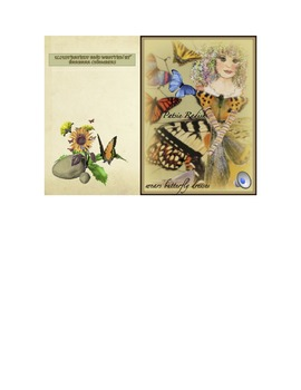 Synonyms- Patsie Radish Wears Butterfly Dresses