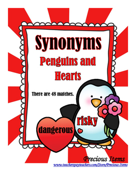 Synonyms - Penguins and Hearts
