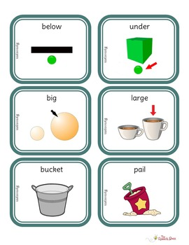 Synonyms Picture and Task Cards (STACK)