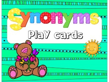 Synonyms - Play Cards