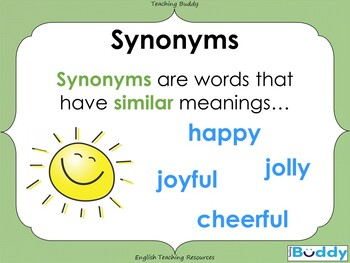 Synonyms (PowerPoint)
