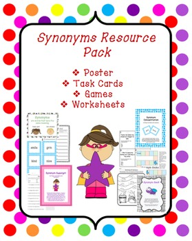 Synonyms Resource Pack