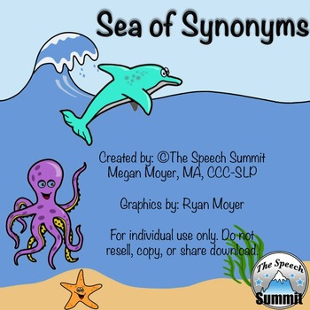 "Synonyms: ""Sea of Synonyms"""