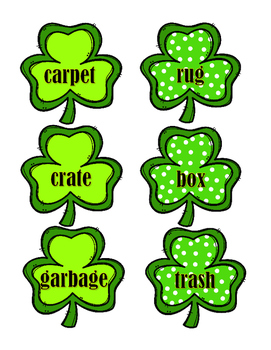 Synonyms - Shamrocks
