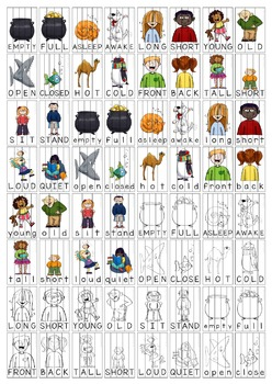 Antonyms Word Puzzles and Spelling Practice