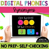 Distance Learning Synonyms Sound Tappers - Digital Phonics