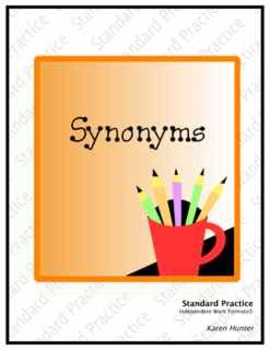 Synonyms--Standard Practice