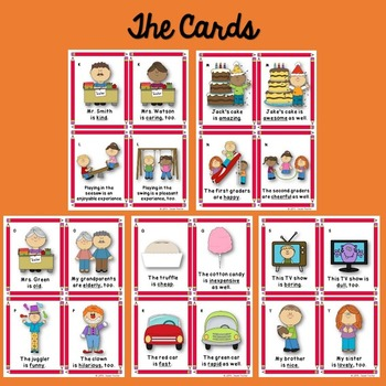 Synonyms Game (Synonyms Task Cards)