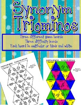 Synonyms - Triominos Game