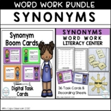 Synonyms Word Work Bundle 2nd & 3rd Grade