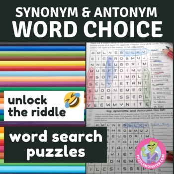 Synonyms And Antonyms Worksheets For Grade 2 | Teachers Pay Teachers