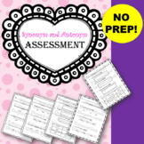 Synonyms and Antonyms Assessment (VAAP 7E RW 1 e)