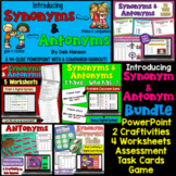 Synonyms and Antonyms Bundle (Introduction)
