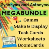 Synonyms and Antonyms Bundle of Printable and Digital Acti