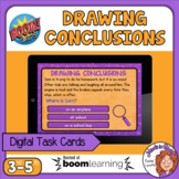 Drawing Conclusions Digital Task Cards on Boom Learning!
