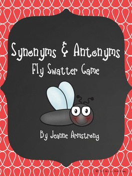 Synonyms and Antonyms Flyswatter Game