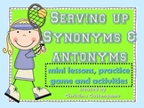 Synonyms and Antonyms Lessons and Activities