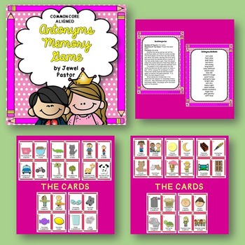 Antonyms and Synonyms Activities BUNDLE (Synonyms and Antonyms Center)