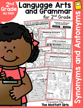 Synonyms and Antonyms NO PREP Packet