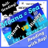 Google Forms ELA Synonyms and Antonyms Passage Activities Using Parody Rap Song