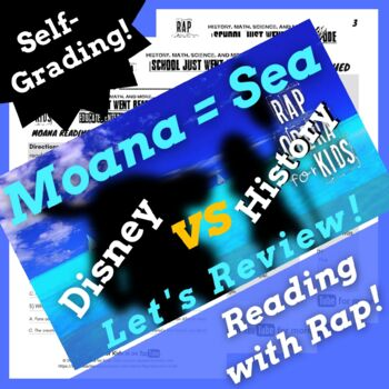 Google Forms Reading Synonyms and Antonyms Passage Activities Using Parody Song