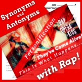 Synonyms and Antonyms Passage with Worksheets Using Spooky Story Rap Song