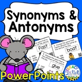 Synonyms and Antonyms PowerPoints