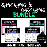 Synonyms and Antonyms Reading Centers Bundle