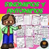 Synonyms and Antonyms (Sinónimos y Antónimos)