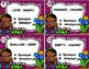 Synonyms and Antonyms Spring Task Cards