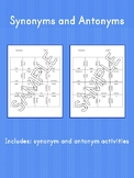 Synonyms and Antonyms Square Puzzles