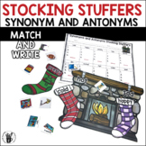 Synonyms and Antonyms Stocking Stuffers Center