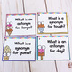 Antonyms and Synonyms Task Cards- Sweet Treat!