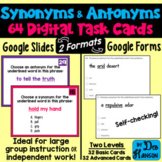 Synonyms and Antonyms Task Cards Using Google Forms: A Digital Resource