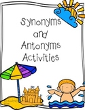 Synonyms and Antonyms Worksheets (15 activities/worksheets)
