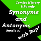 Synonyms and Antonyms Worksheets and Passages Using Superh