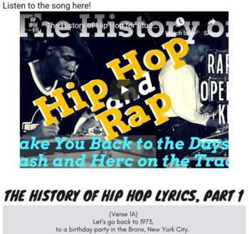 Google Classroom ELA Synonyms and Antonyms Activities Using Rap Songs Bundle #1