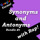 Synonyms and Antonyms Google Classroom Reading Passages Us