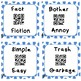 Synonyms and Antonyms Task Cards with QR Codes
