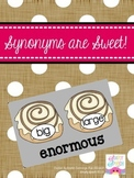 Synonyms are Sweet!