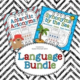 Antarctic Antonyms and Synonyms by the Sea Language Bundle