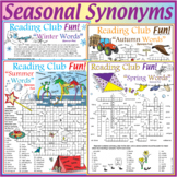 Synonyms for All Seasons – Vocabulary Bundle – Fall, Winte