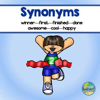 Synonyms for Early Learners