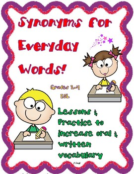 Synonyms for Everyday Words!