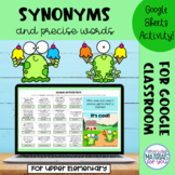 Synonyms for Google™ Sheets