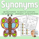 Synonyms for Speech Therapy with a Spring Theme