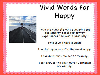 Synonyms for Writing: Vivid Words for Happy