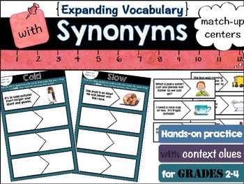 Synonyms in context: match-up centers